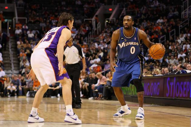 Steve Nash and Gilbert Arenas