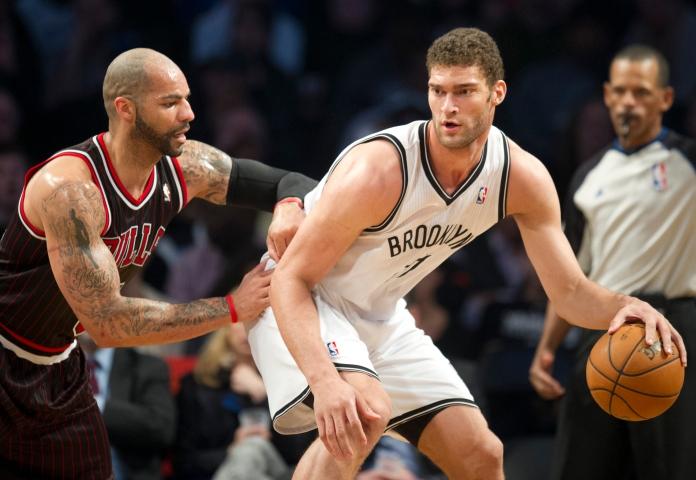 Carlos Boozer and Brook Lopez