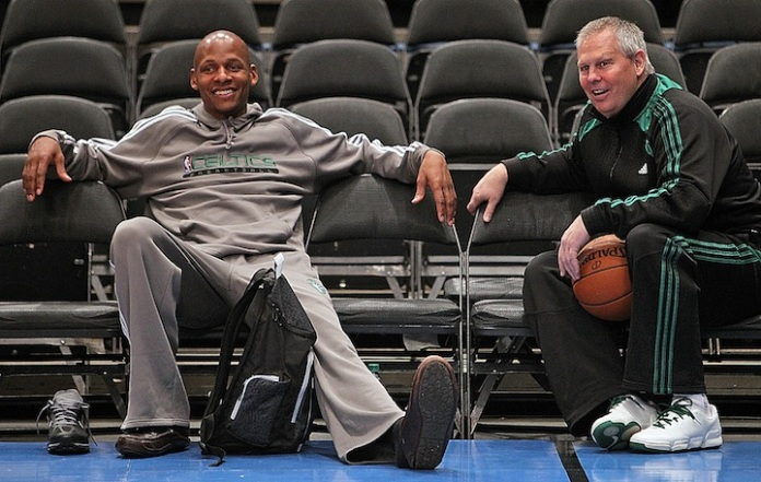 Ray Allen and Danny Ainge