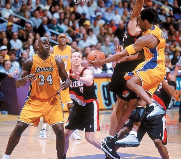 Lakers V Blazers 2000