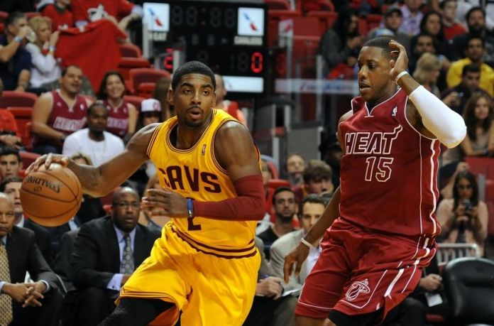 Kyrie Irving and Mario Chalmers