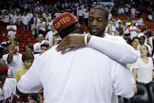 Rick Ross and Dwayne Wade