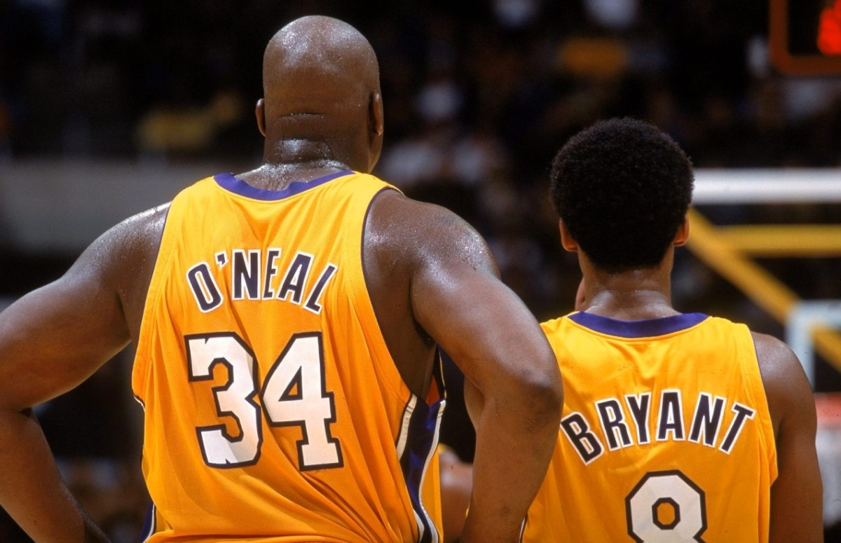 Kobe Bryant and Shaquille O'Neal are reunited on Shaq's Podcast