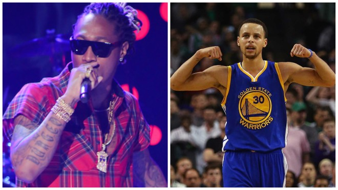 Future & Stephen Curry