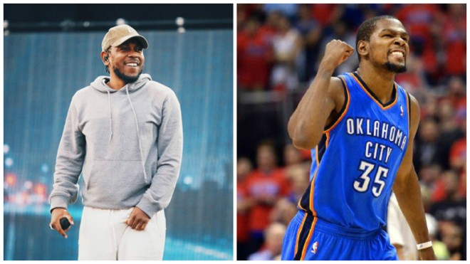 Kendrick Lamar & Kevin Durant