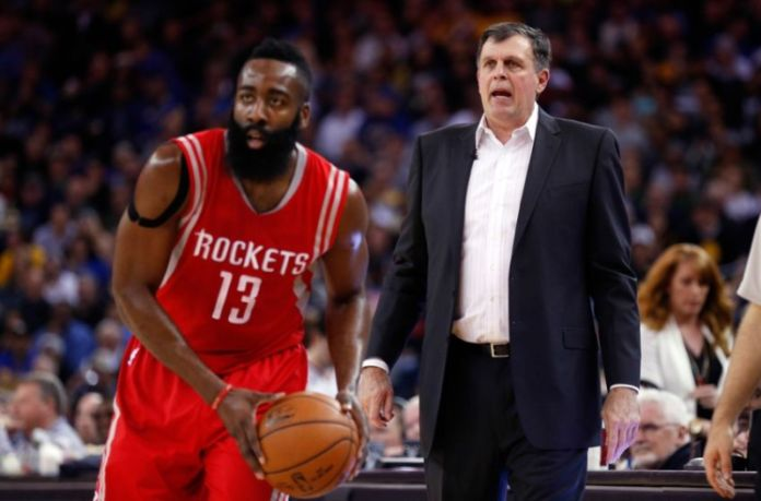 After winning 56 games and making a Western Conference Finals appearance during the 2014-15 season, McHale posted a 4-7 record this season and was fired