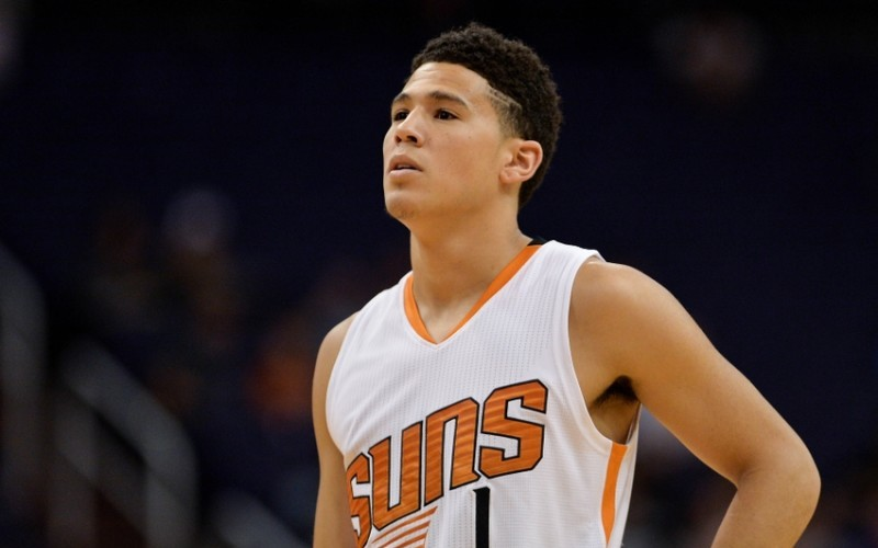 Devin Booker Getting It Done In Phoenix Basketball Society