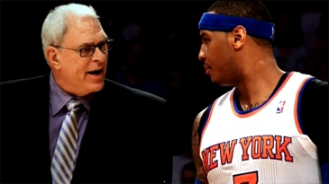 Phil Jackson, Carmelo Anthony