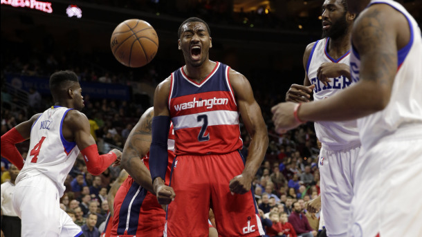 Nerlens Noel, Luc Mbah a Moute, Isaiah Canaan, John Wall